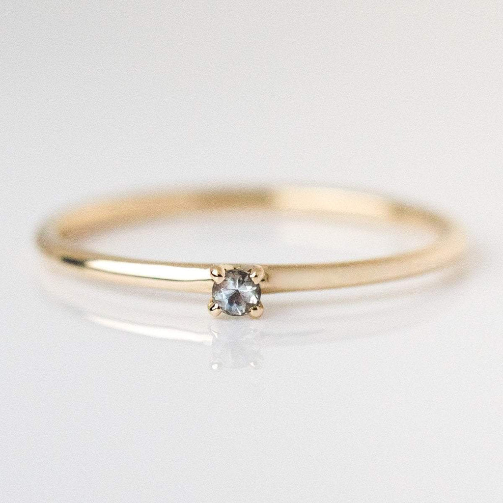 june birthstone ring, fine birthstone ring, moonstone birthstone ring