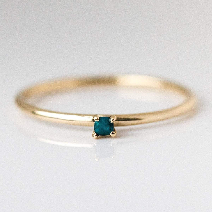 turquoise birthstone ring, fine birthstone ring, december birthstone ring