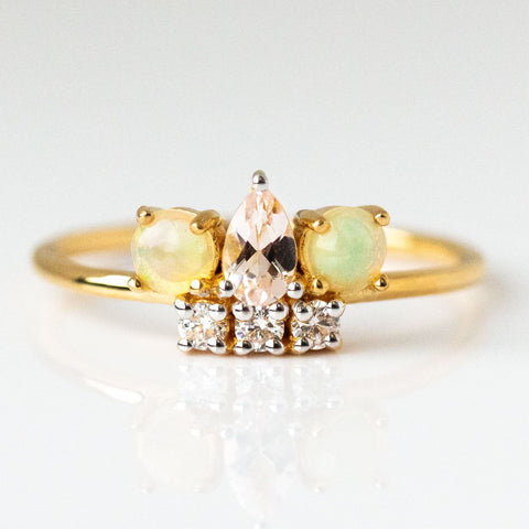 Aphrodite's Crown Jewel Ring