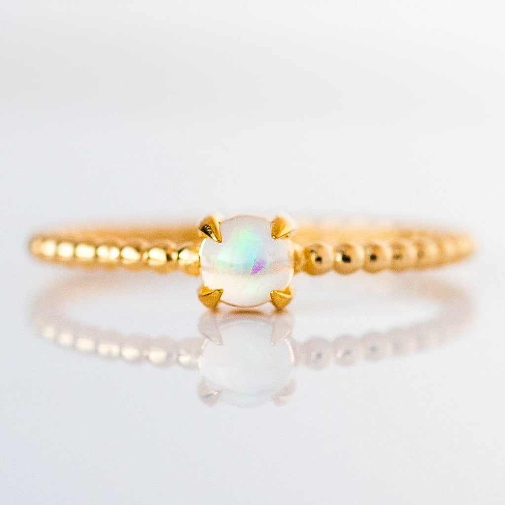 opal birthstone ring, october birthstone jewelry