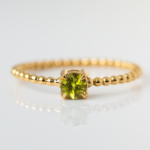 august birthstone ring, peridot birthstone jewelry