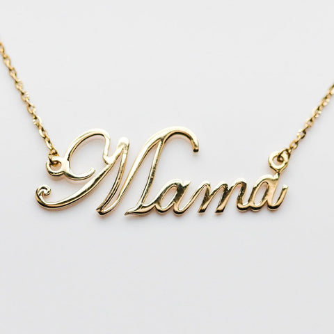 personalized necklace, mom necklace, mama necklace, gift for mom