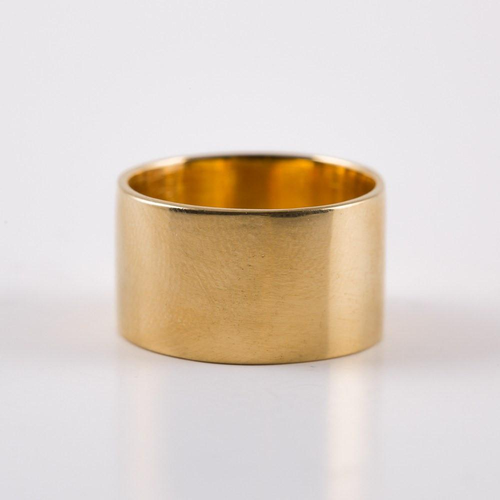 The Madonna Gold Band - rings - Lust & Luster local eclectic