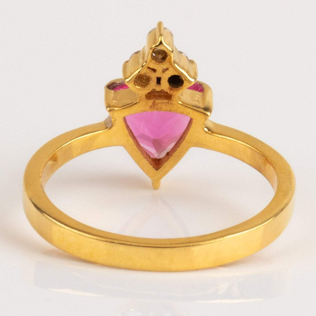 Valentina Ring with Pink Tourmaline
