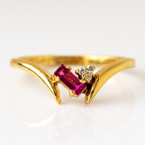 Lita Ring with Pink Tourmaline