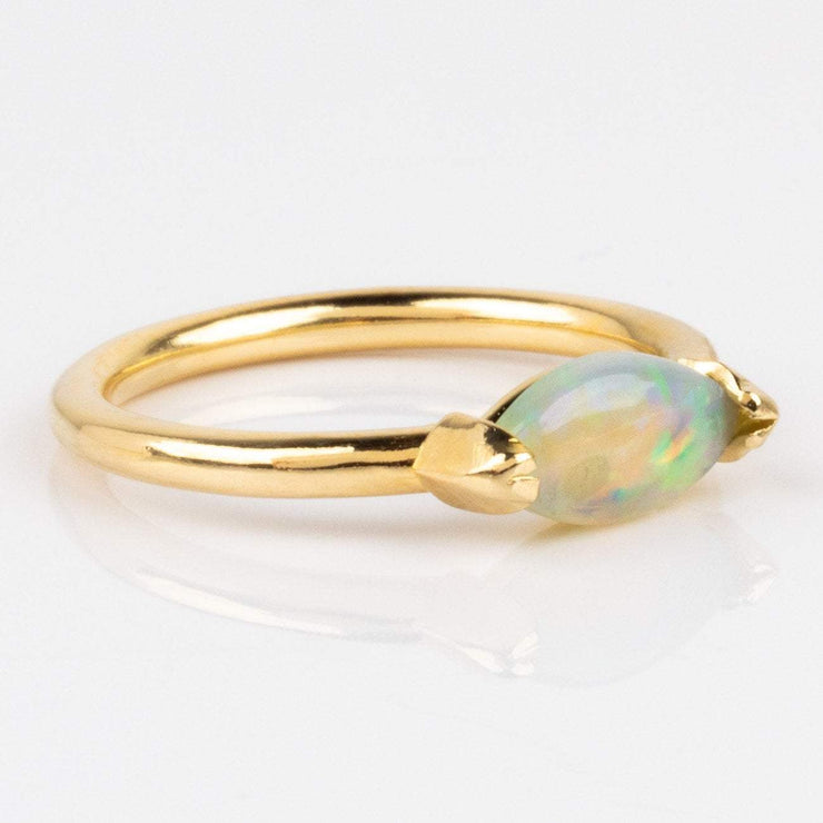 Etta Ring with Opal