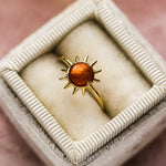 Sonny Ring with Sunstone - rings - Merewif local eclectic