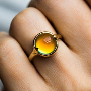 Feelings Ring with Mood Stone - rings - Merewif local eclectic
