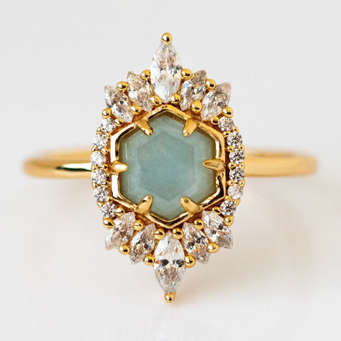 Aquamarine Medina Ring