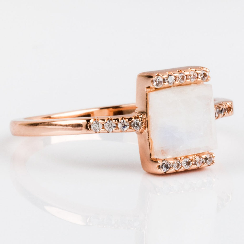 Vero Ring in Rose Gold - rings - Melanie Auld local eclectic