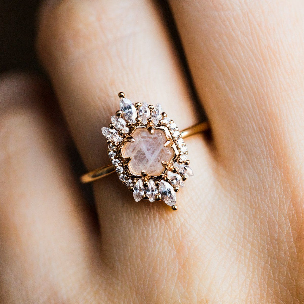 Moonstone Medina Vintage Statement Ring
