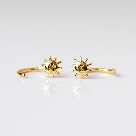 Star Bright Huggies with Citrine
