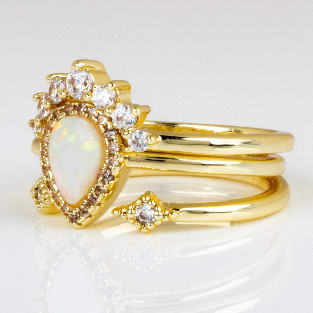 rela opal stacking ring jewelry
