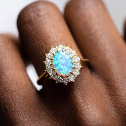 Melinda Maria Opal Statement Ring