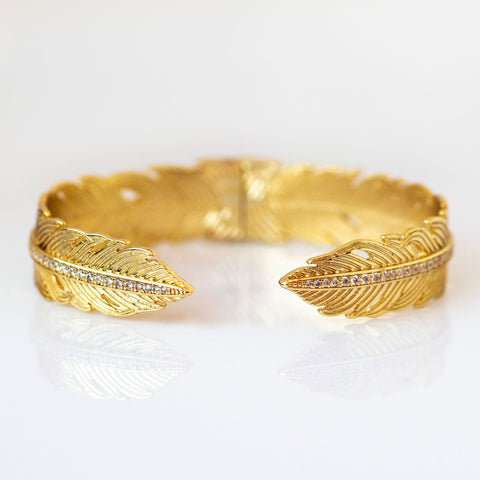Slim Feather Cuff