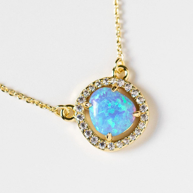 Margot Baby Opal Necklace - necklaces - Melinda Maria local eclectic