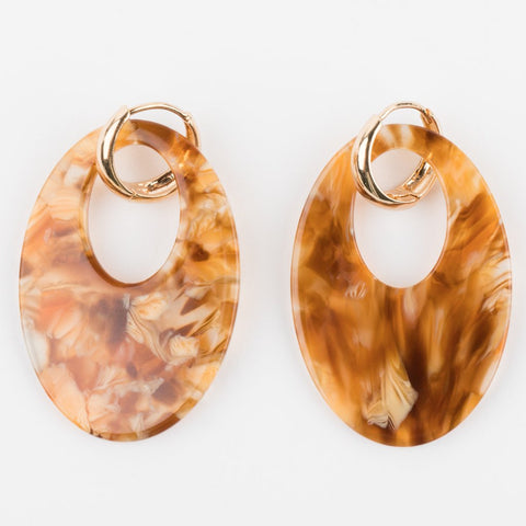 Alaska Earrings in Amber - earrings - Amber Sceats local eclectic
