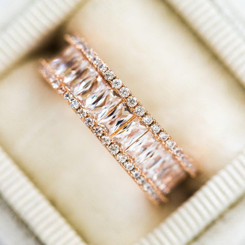 Rose Gold Royal Statement Ring - rings - Girls Crew local eclectic