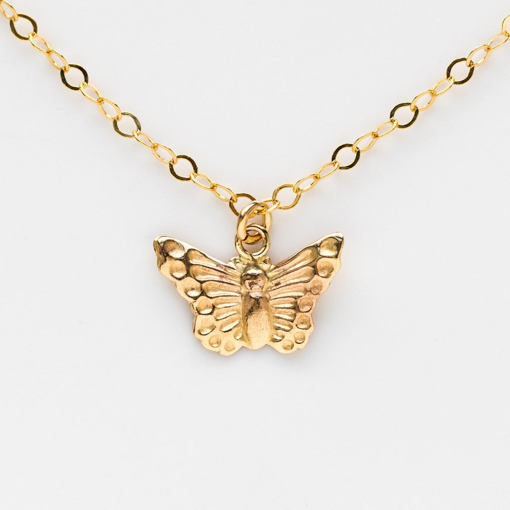 Fly Away With Me Butterfly Choker - necklaces - Girls Crew local eclectic