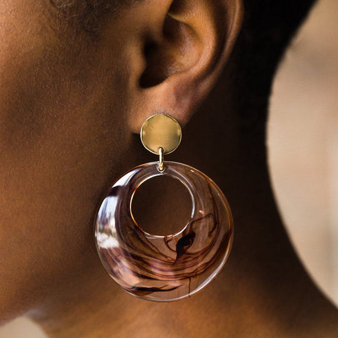 Matrix Earrings - earrings - Amber Sceats local eclectic