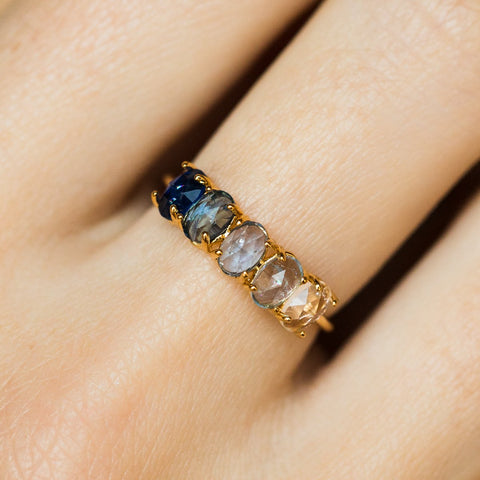 Ombré Birthstone Ring September
