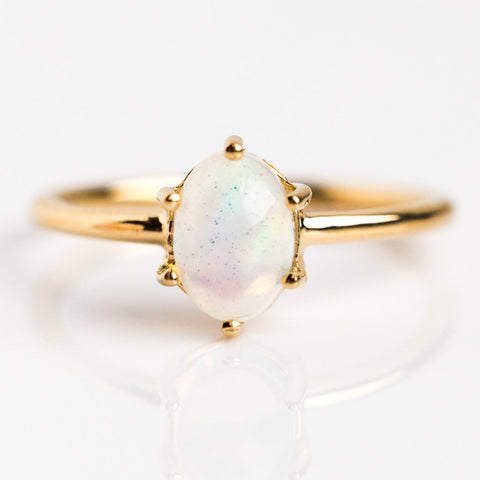 Everly Opal Ring - rings - Minette local eclectic