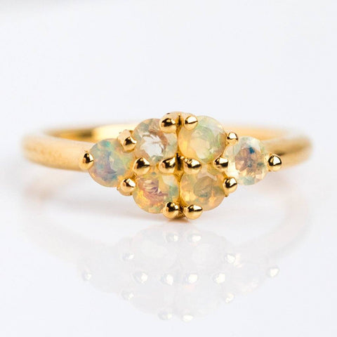 Nadine Opal Ring - rings - Minette local eclectic