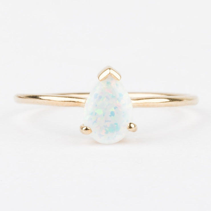 La Kaiser Gold Opal Stacking Ring
