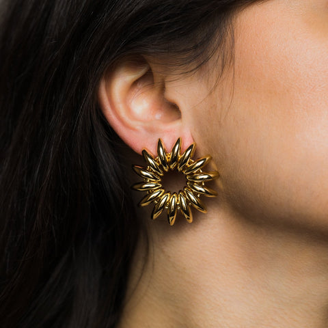 Golden Hope Earrings - earrings - Reliquia local eclectic