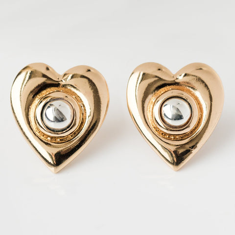 Heart of Gold Earrings - earrings - Reliquia local eclectic