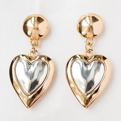 Kind Heart Earrings - earrings - Reliquia local eclectic