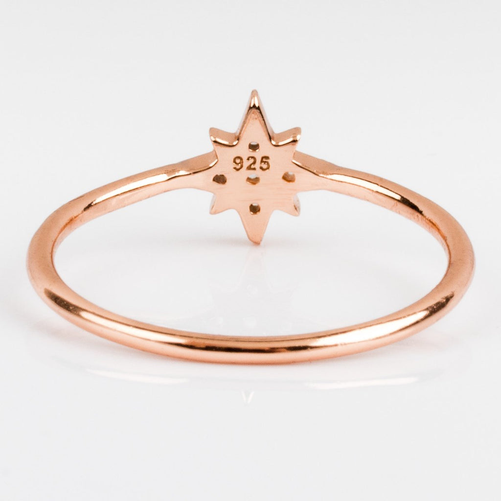 Tiny Starburst Ring - rings - Shashi local eclectic