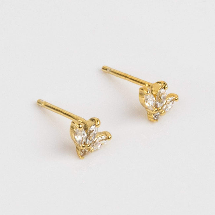 Amara Petal Studs earrings Shashi