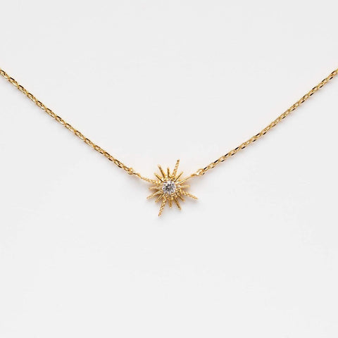 Celestina Starburst Necklace