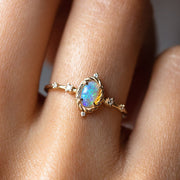 Luminary Ring with Opal rings Sofia Zakia