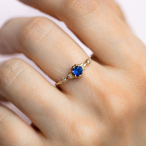 Clara's Dream Ring with Sapphire