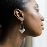 Libra Drop Statement Earrings - earrings - Lover's Tempo local eclectic