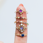 Clara's Dream Ring with Sapphire - rings - Sofia Zakia local eclectic