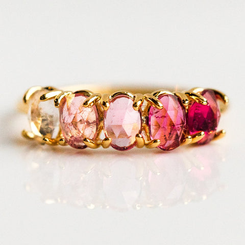 July Ombré Birthstone Ring - rings - Tai Jewelry local eclectic