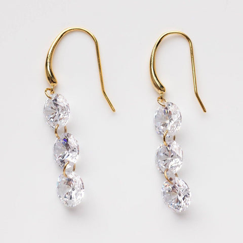 Supreme Sparkle CZ Drop Earrings