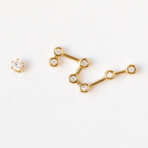 Leo Constellation Studs - earrings - Tai Jewelry local eclectic