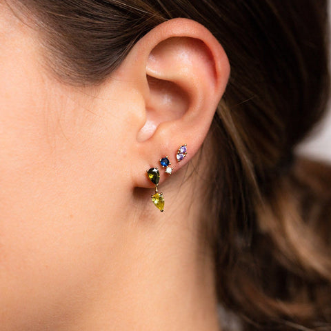 Cool Toned Classics Stud Earring Set statement stud earrings