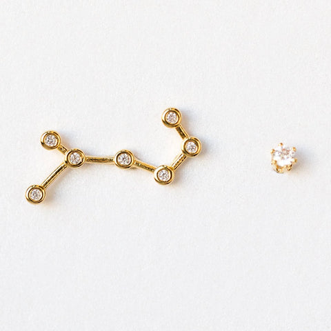 Scorpio Constellation Studs - earrings - Tai Jewelry local eclectic