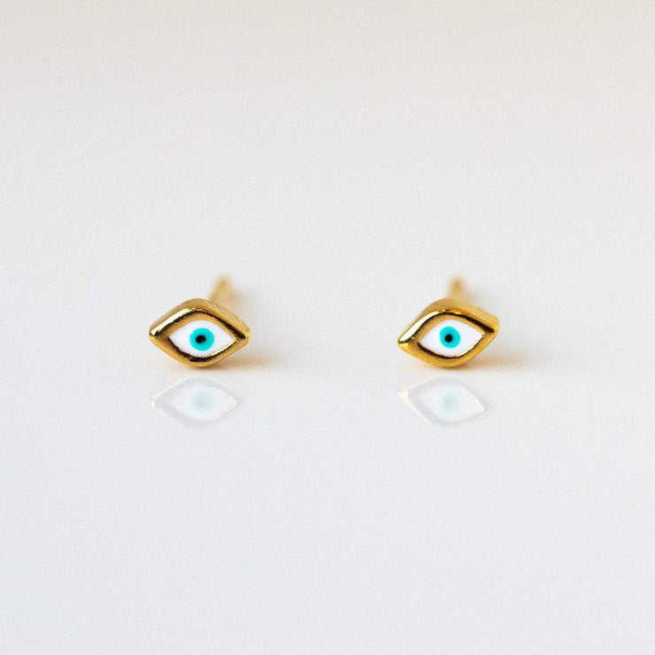Third Eye Enamel Earrings earrings Tai Jewelry