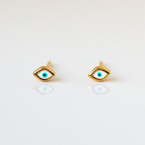 Third Eye Enamel Earrings