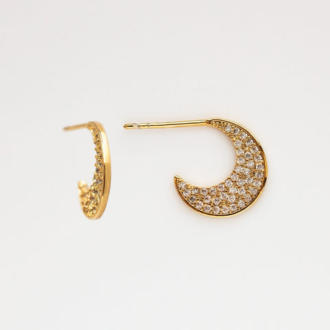 Pave Abstract Hoops