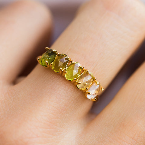 August Ombré Birthstone Ring - rings - Tai Jewelry local eclectic