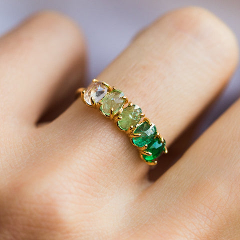 May Ombré Birthstone Ring - rings - Tai Jewelry local eclectic
