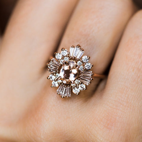 Victoria Romantic Cluster Ring - rings - Emi Conner local eclectic