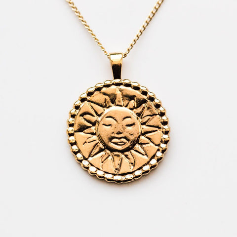 Lumen Sunshine Pendant Necklace - necklaces - Wolf Circus local eclectic